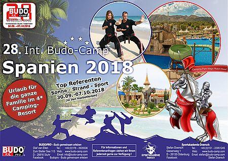 2018 09 30. 10 07. budo camp spanien
