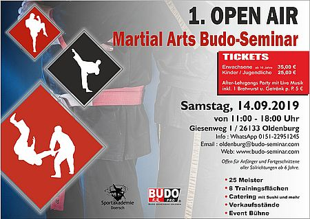 2019 09 14. 1.open air martial arts budo seminar